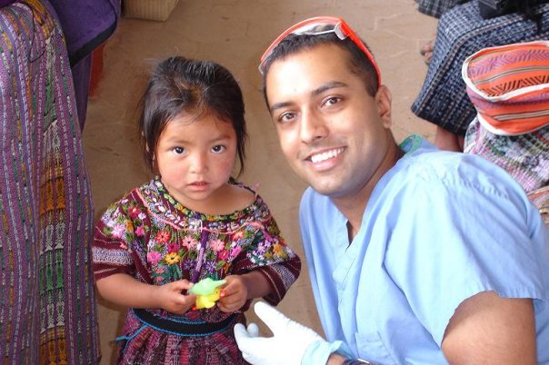 Dr Pratik Patel of PearlFection Dentistry on a Mission Trip